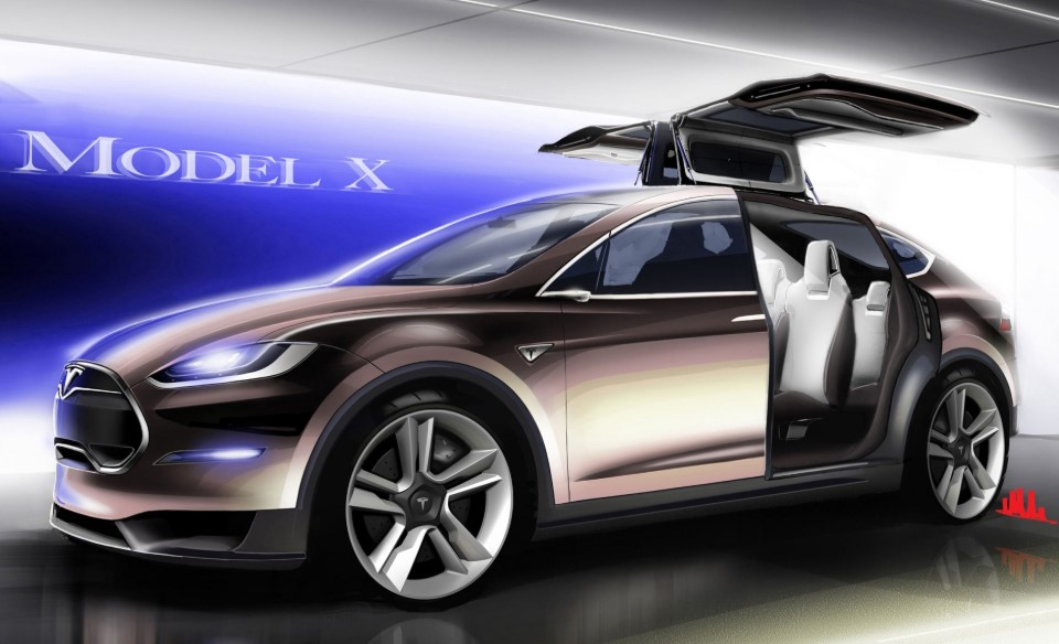 Tesla's Model X Car Review